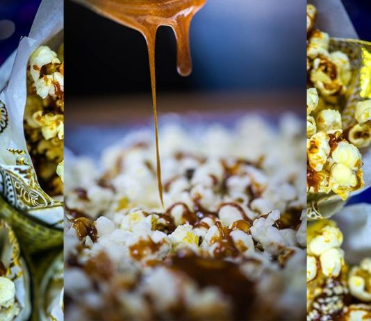 lohri popcorn with gur