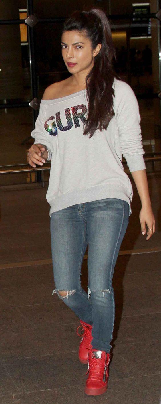 Priyanka-chopra-airport-style