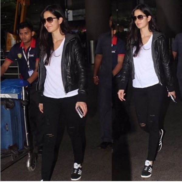 katrina-kaif-aiport-style-leather-jacket