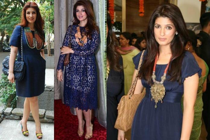 statement necklace twinkle khanna