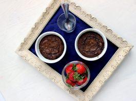 chocolate lava pots
