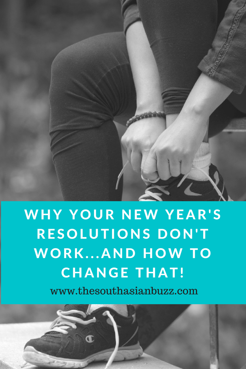 how to make new years resolutions that actually work