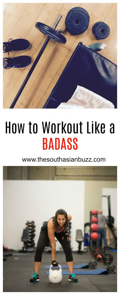 how to workout like a badass