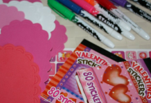 when did valentines day become a children's holiday?