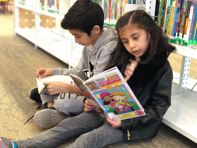 Spring Break Ideas for Families - library