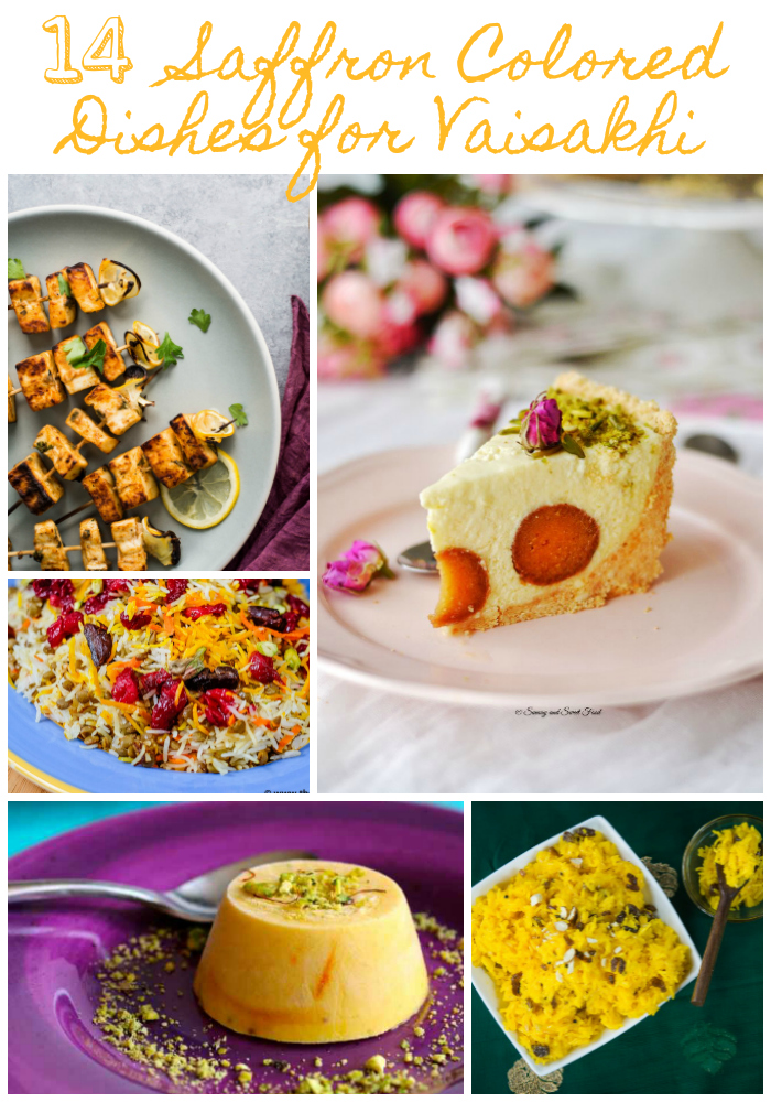 14 Saffron Colored Dishes for your Vaisakhi Menu