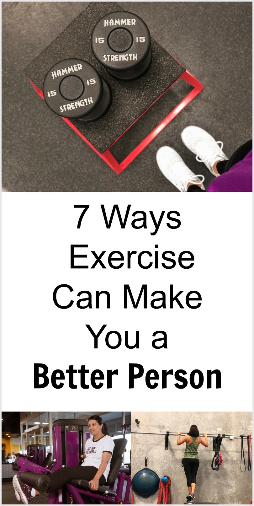 How Exercise Makes You a better person